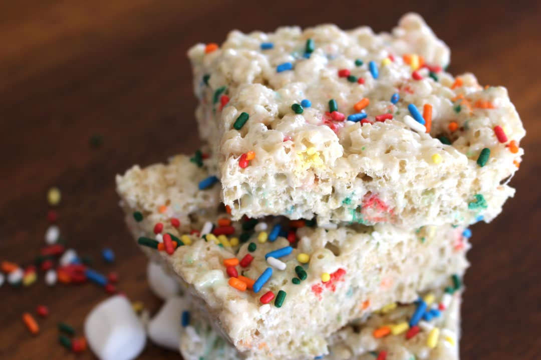 Cake Batter Rice Krispies4