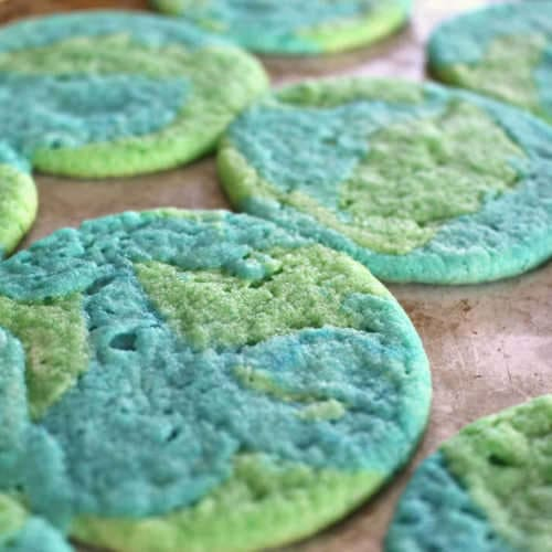 Earth Day Sugar Cookies Recipe