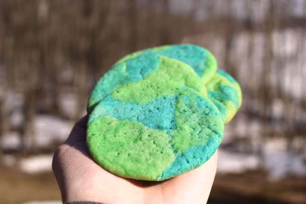 Earth Day Sugar Cookies