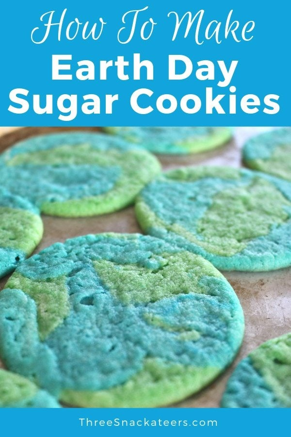 How To Make Earth Day Sugar Cookies