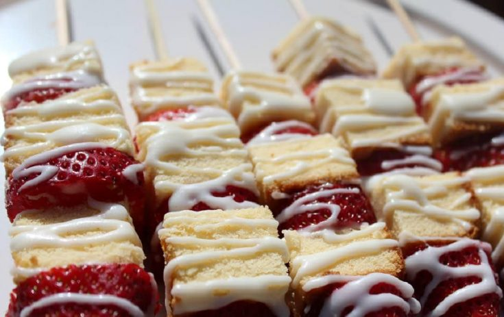 Strawberry Shortcake Kabob Recipe
