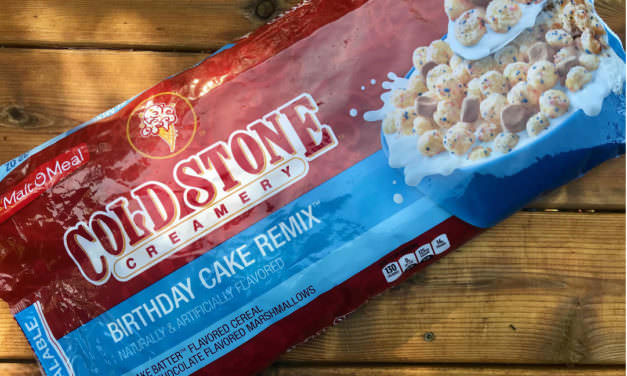 Cold Stone Creamery Birthday Cake Remix Cereal Review