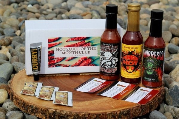 Hot Sauce Of The Month Club Subscription Box