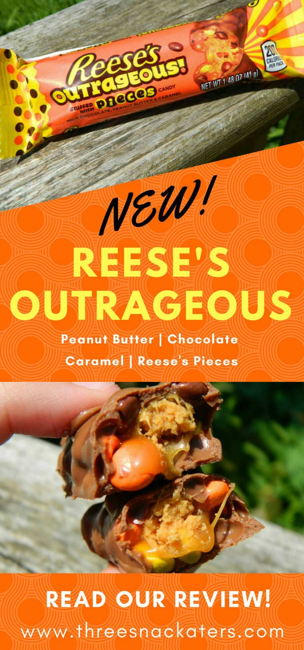 Reese's Outrageous Candy Bar Review