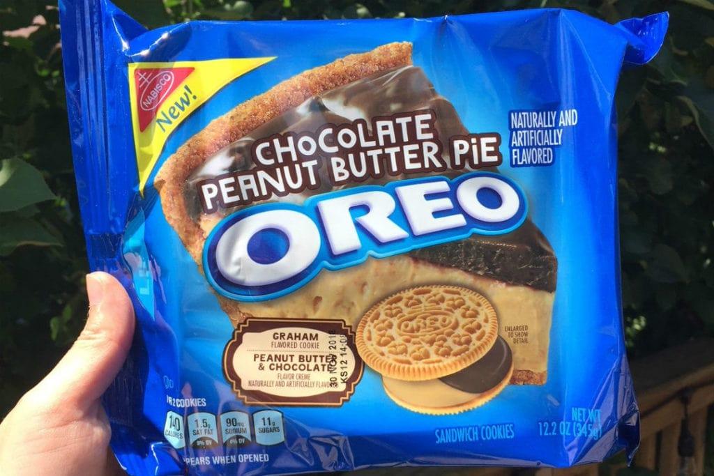 Chocolate Peanut Butter Pie Oreo 1