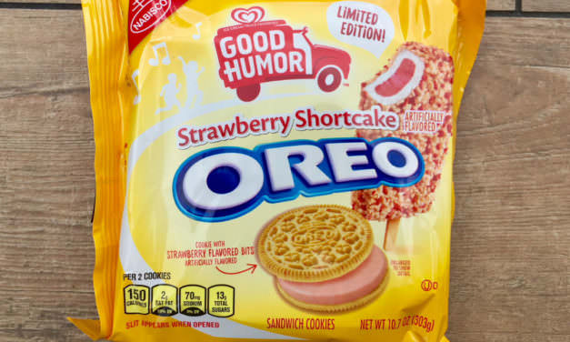Strawberry Shortcake Oreo Cookie Review