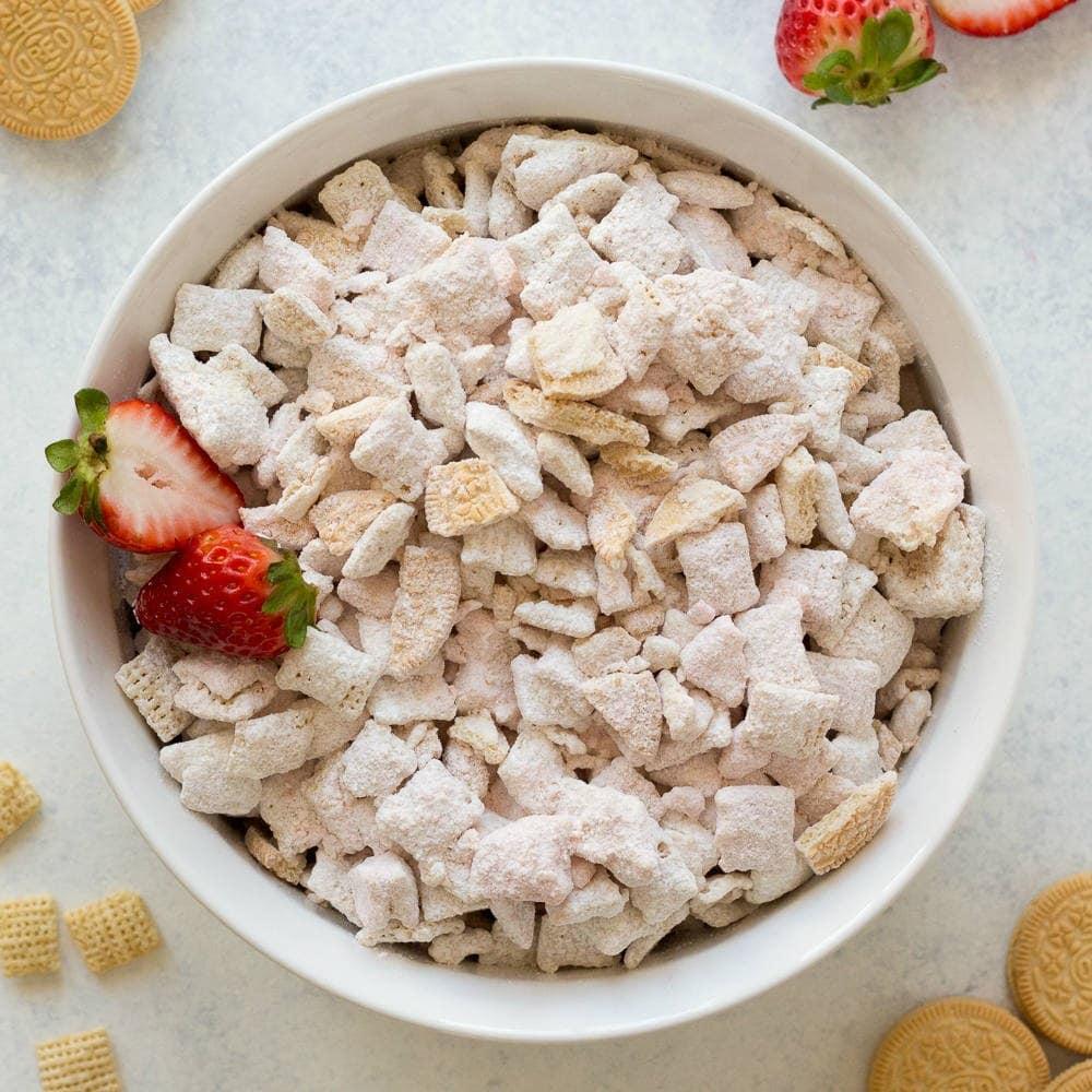 Strawberry Shortcake Oreo Puppy Chow Recipes