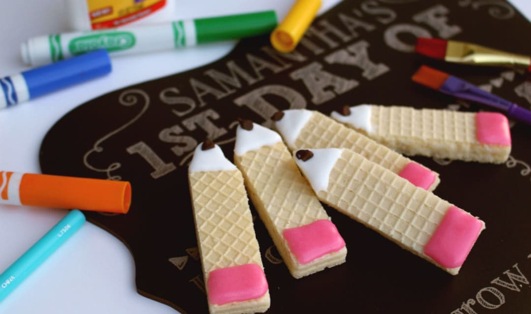Back To School Pencil Cookies