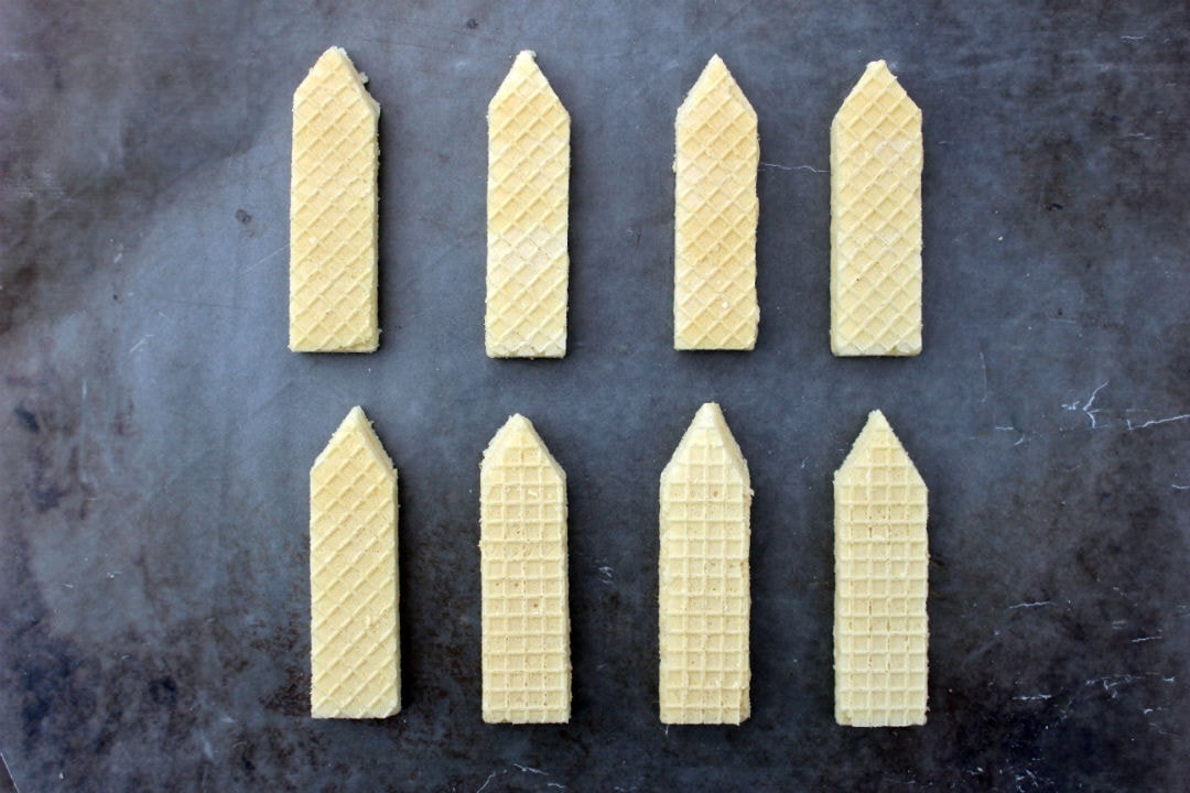 Back To School Pencil Wafer Cookies 3