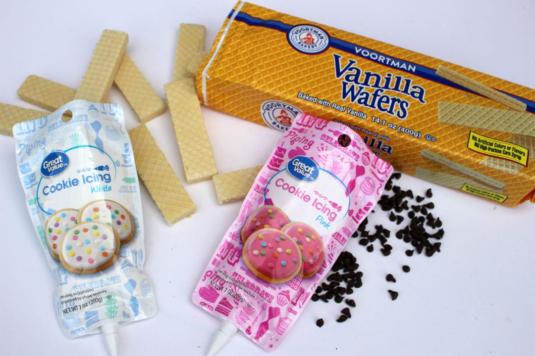 Back To School Pencil Wafer Cookies