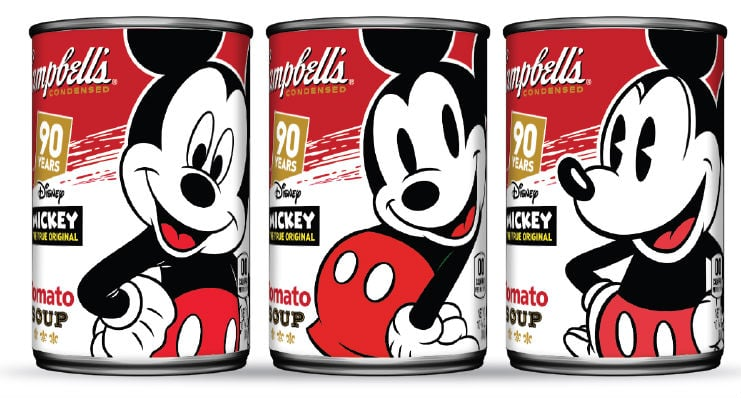 Mickey Mouse Campbells Soup