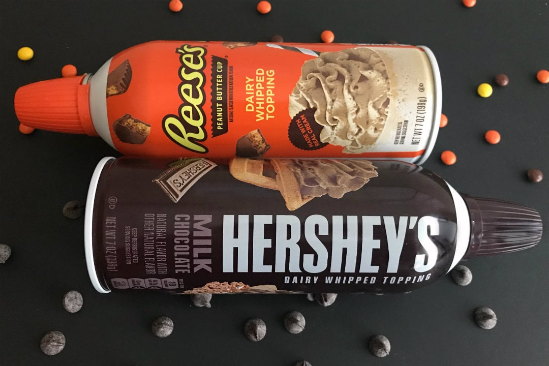 Reeses Hersheys Whipped Cream Feature