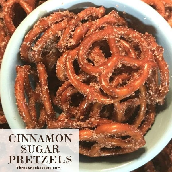 Easy Cinnamon Sugar Pretzels