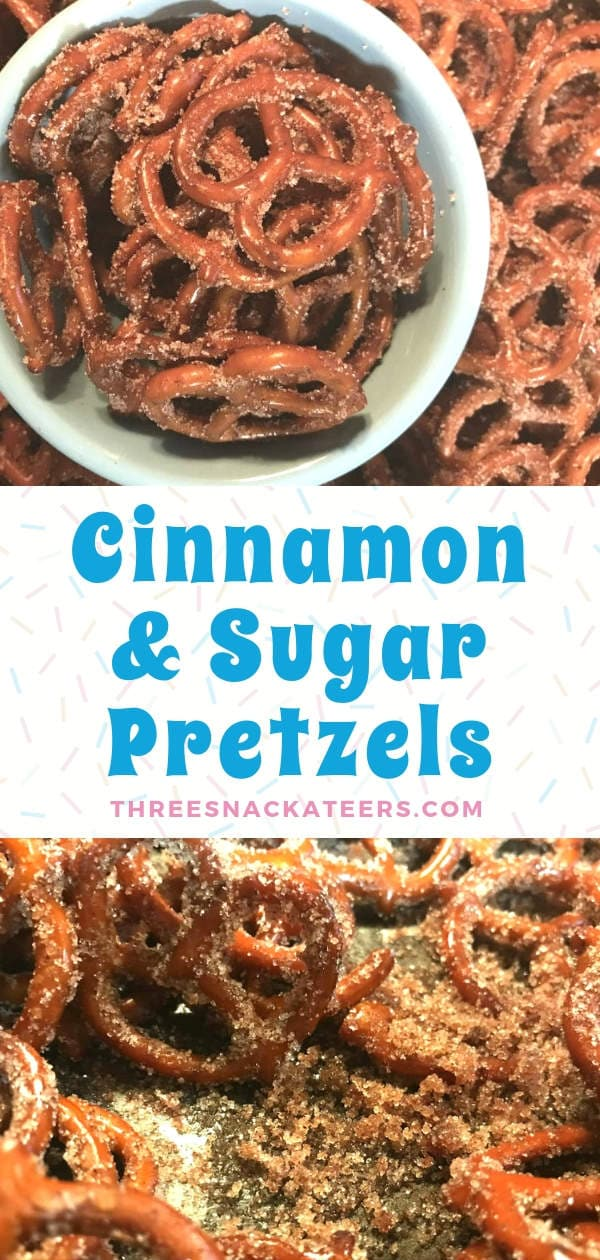 Easy Cinnamon and Sugar Pretzels