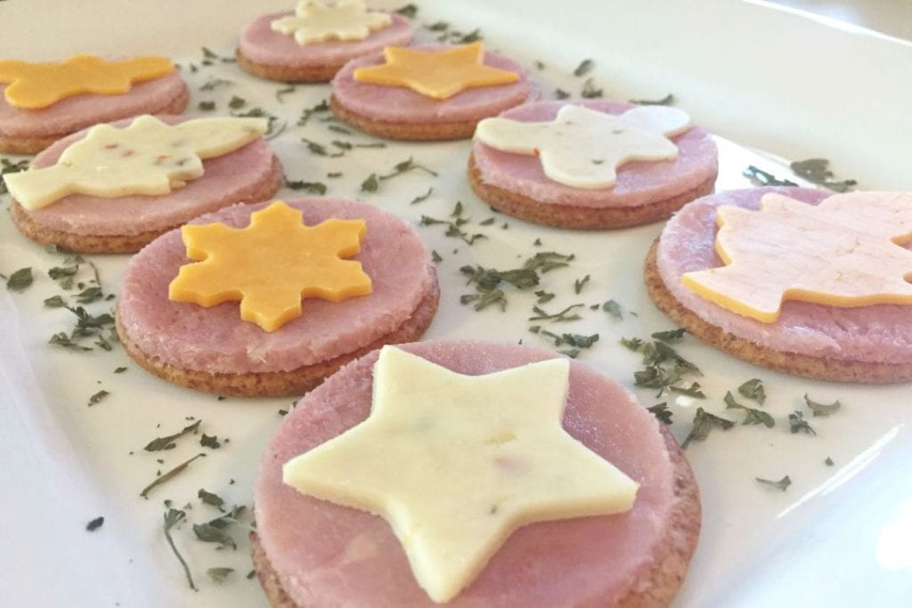 Ham and Cheese Crackers 2