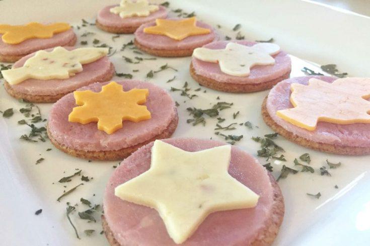 Ham and Cheese Crackers 2