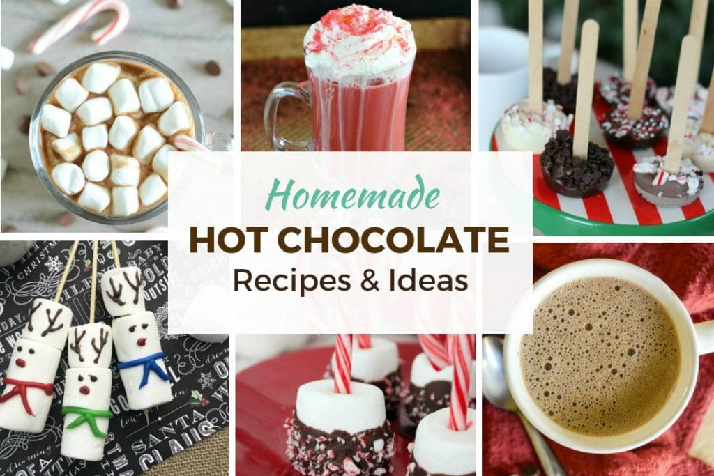 Hot Chocolate Recipes and Ideas Feature Image