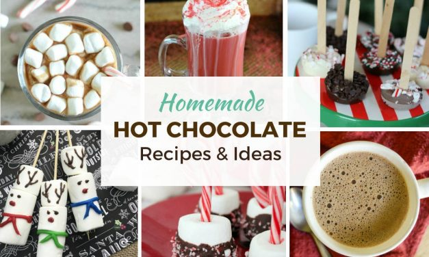 Homemade Hot Chocolate Recipes and Creative Ideas