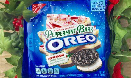 Peppermint Bark Oreo Review