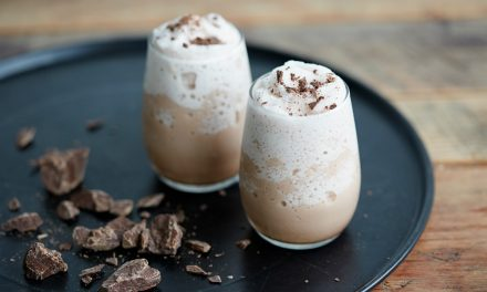 Spiced and Iced Hot Chocolate