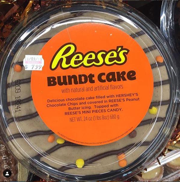 Reeses Bundt Cake