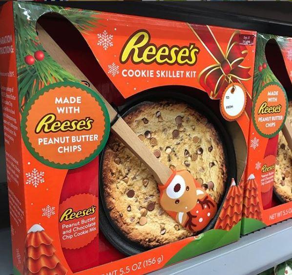 Reeses Cookie Skillet
