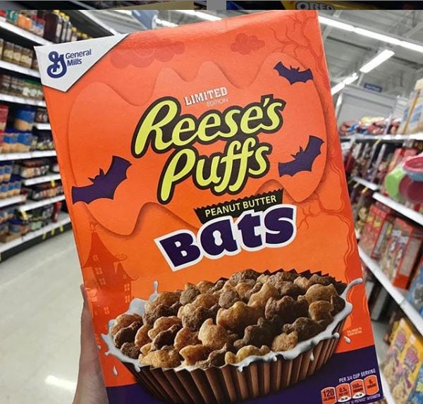 Reeses Peanut Butter Bats Cereal