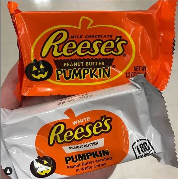 Reeses Peanut Butter Cup Pumpkins White or Milk Chocolate