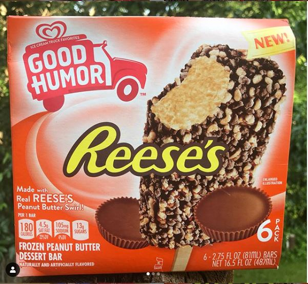 Reeses Peanut Butter Good Humor Ice Cream Bars