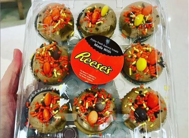 Reeses Peanut Butter Mini Cupcakes