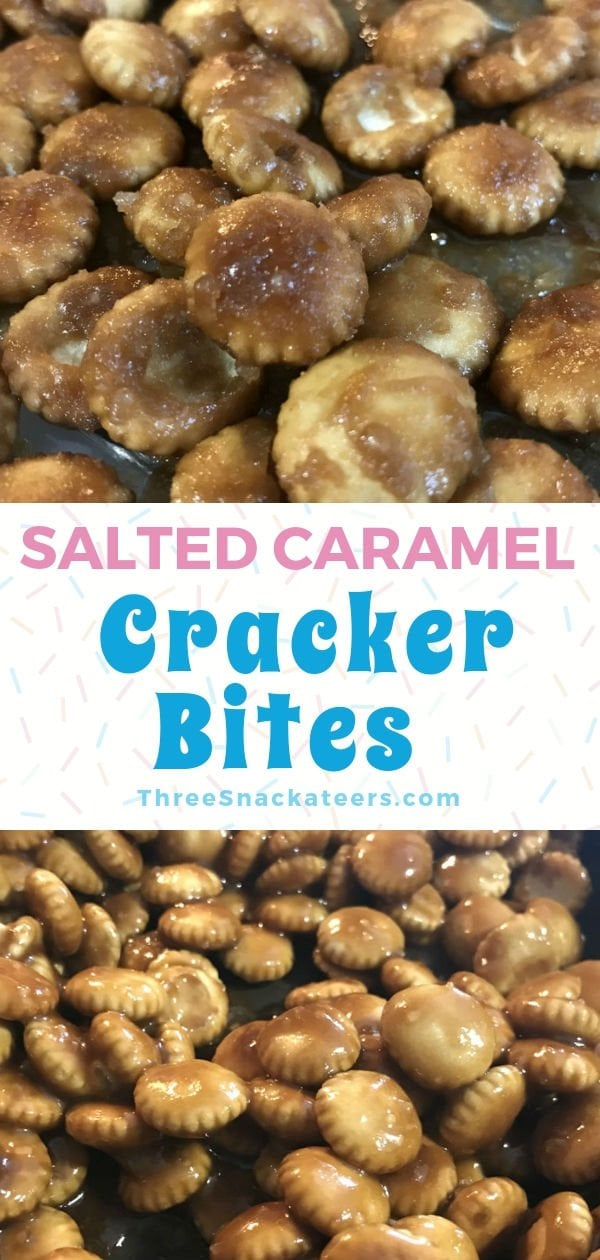 Salted Caramel Toffee Crackers