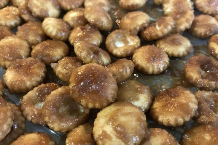 Salted Caramel Crackers