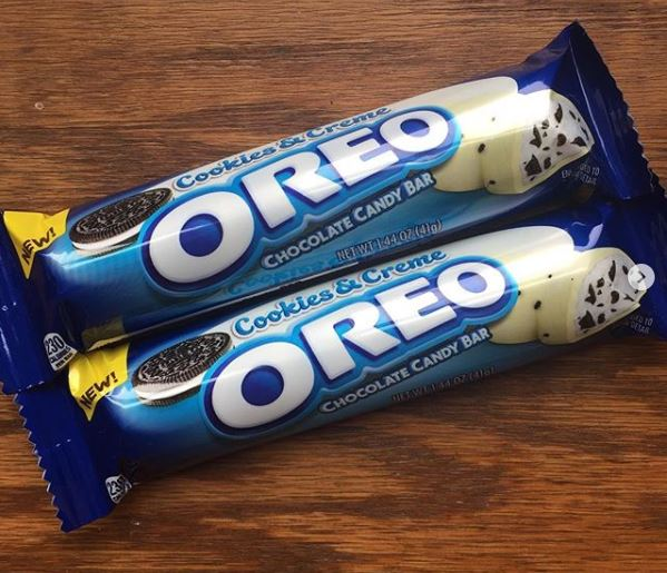 Cookies and Cream Oreo Chocolate Candy Bar