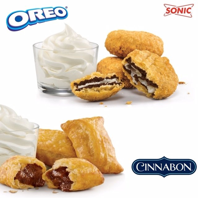 Deep Fried Oreos from Sonic