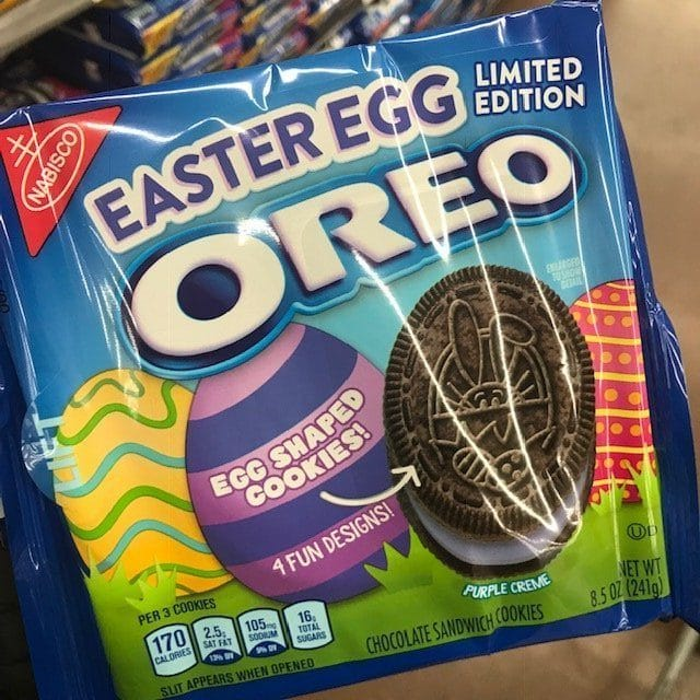 Limited Edition Easter Egg Oreo Cookies
