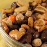 Reese's Snack Mix is so easy to make, and a perfect treat if you love peanut butter. This 5-minute, no-bake snack mix recipe has the perfect mix of sweet and salty ingredients so you get a new flavor combination in every delicious bite.