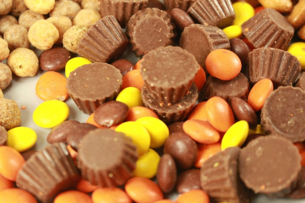 Reeses Snack Mix Ingredients