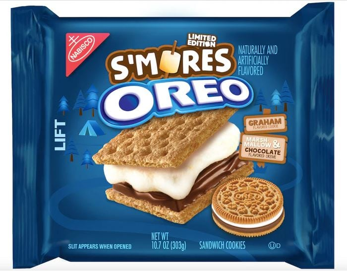 Smores Oreo Cookie Package