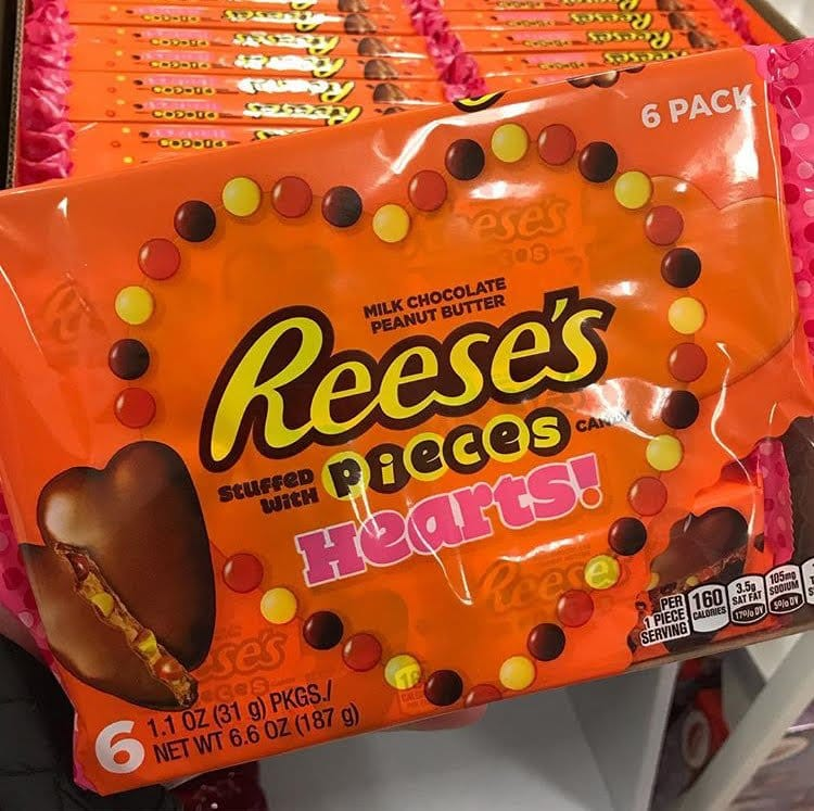Reese's Pieces Hearts