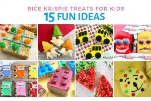 15 fun Ideas rice krispies treats
