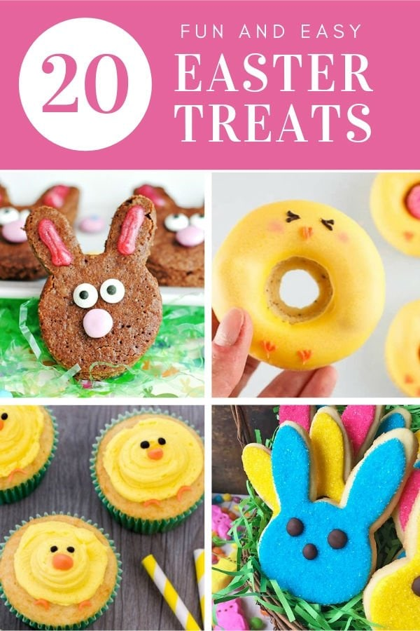 20 Fun and Easy Easter Treats
