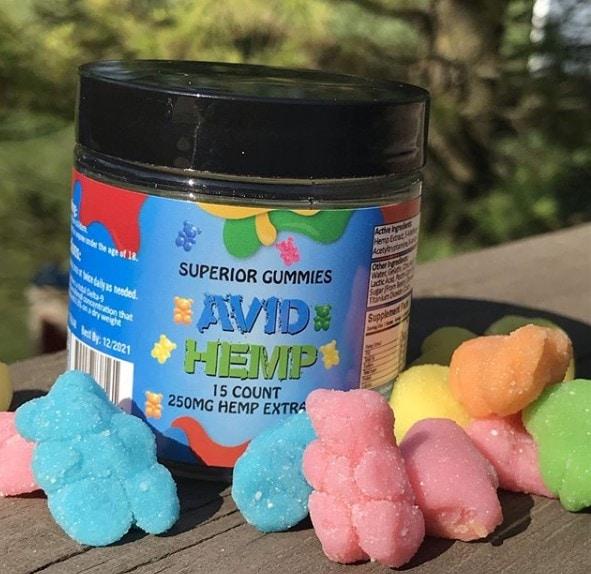 Avid Hemp CBD - Hemp Extract Gummies