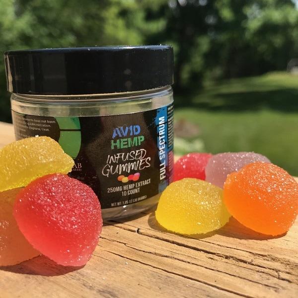 Avid Hemp Full Spectrum Gummies