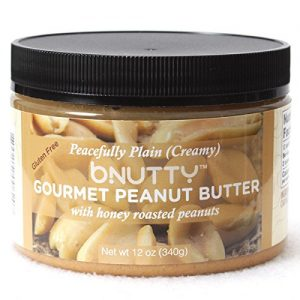 BNutty Peacefully Plain Creamy Gourmet Peanut Butter