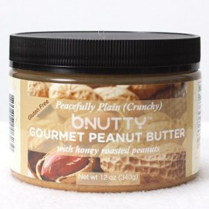 BNutty Peacefully Plain Crunchy Gourmet Peanut Butter