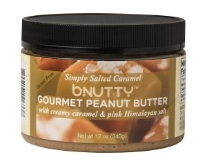 BNutty Simply Salted Caramel Gourmet Peanut Butter