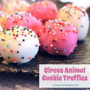 Circus Animal Cookie Truffles Recipe