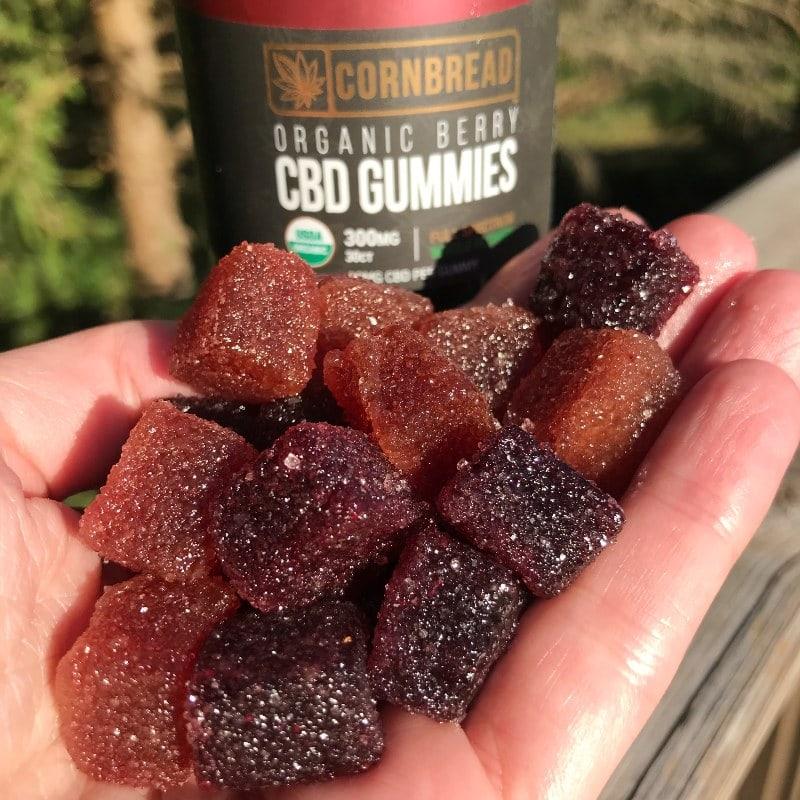 Cornbread Organic Berry CBD Gummies
