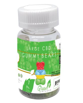 Green Infused CBD Gummies