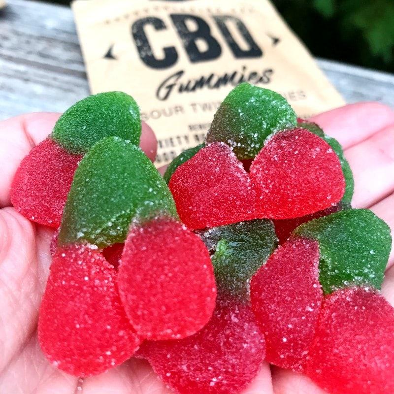 Kore Organic Sour Twin Cherries CBD Gummies